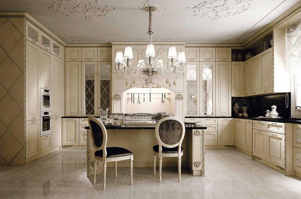 Итальянская кухонная мебель премиум класса – эксклюзив, оригинальность и функциональность